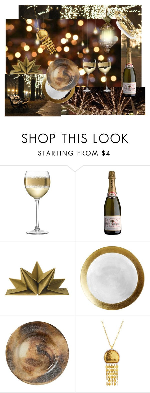"""Gold and Diamond"" by nctillery ❤ liked on Polyvore featuring interior, interiors, interior design, home, home decor, interior decorating, LSA International, Pier 1 Imports, Vietri and Gurhan"
