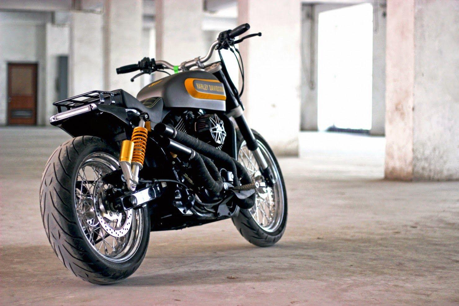 Racing Cafè: Harley Street 750 by TJ Moto