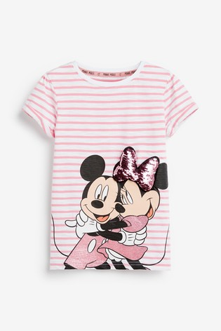 Sweat Shirt B/éb/é Fille Minnie Mouse
