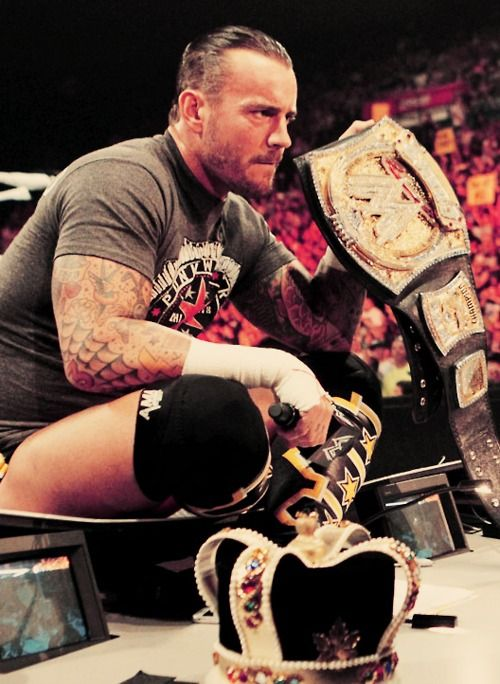 WWE Champion CM Punk