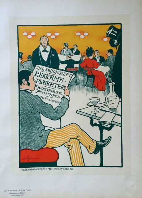 Reklame Plakater Plate 84