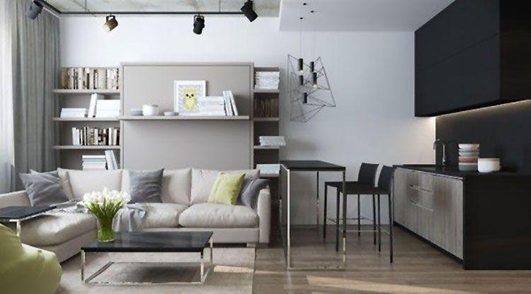 Come Arredare Una Casa Di 30 Mq 6 Progetti Di Design Nel 2020