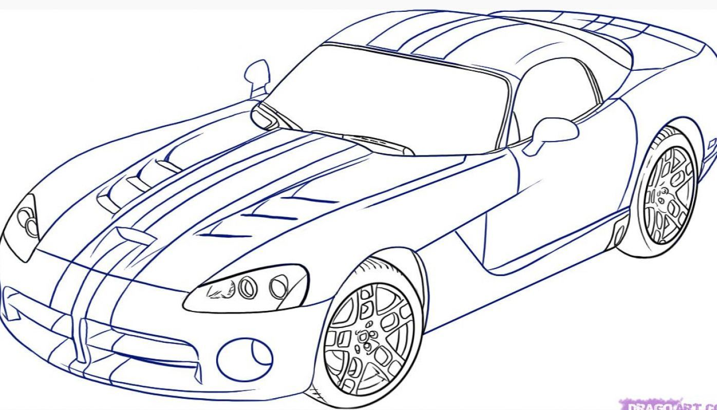 drawing cars | How to draw a car step by step for pictures 1 ...