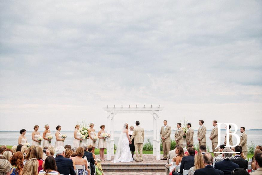 Rehoboth Beach Country Club Wedding Photos By Jordan Brian Photography