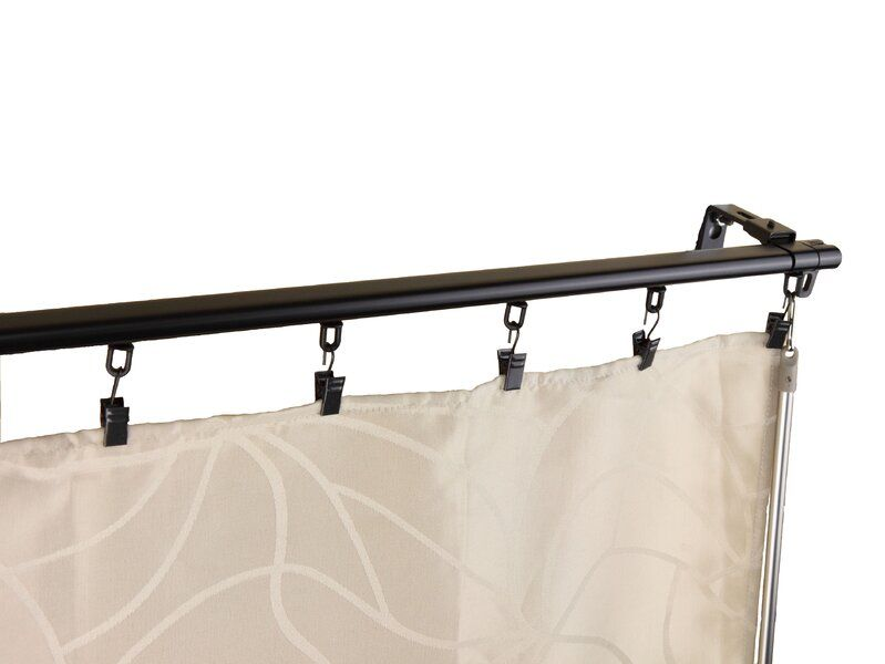 Symple Stuff Bemidji Curtain Track Wayfair Rod Desyne Curtain