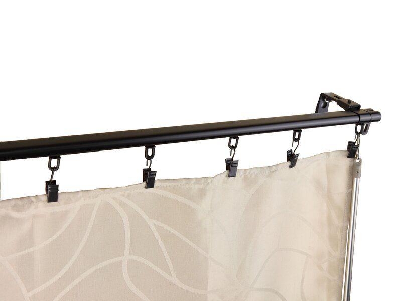 Symple Stuff Bemidji Curtain Track Wayfair Rod Desyne Curtain