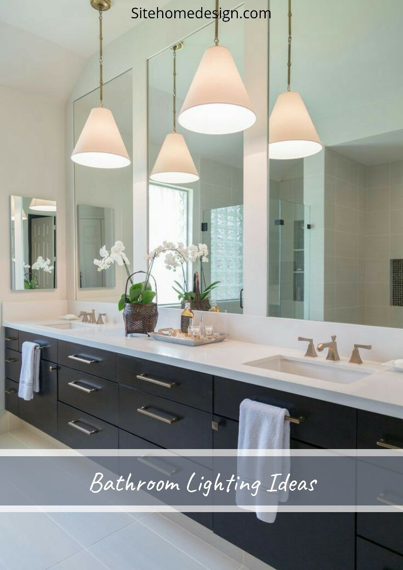 20 Bathroom Lighting Ideas For Every Design Style With Images Modern Bathroom Remodel Modern Master Bathroom Contemporary Bathroom Remodel