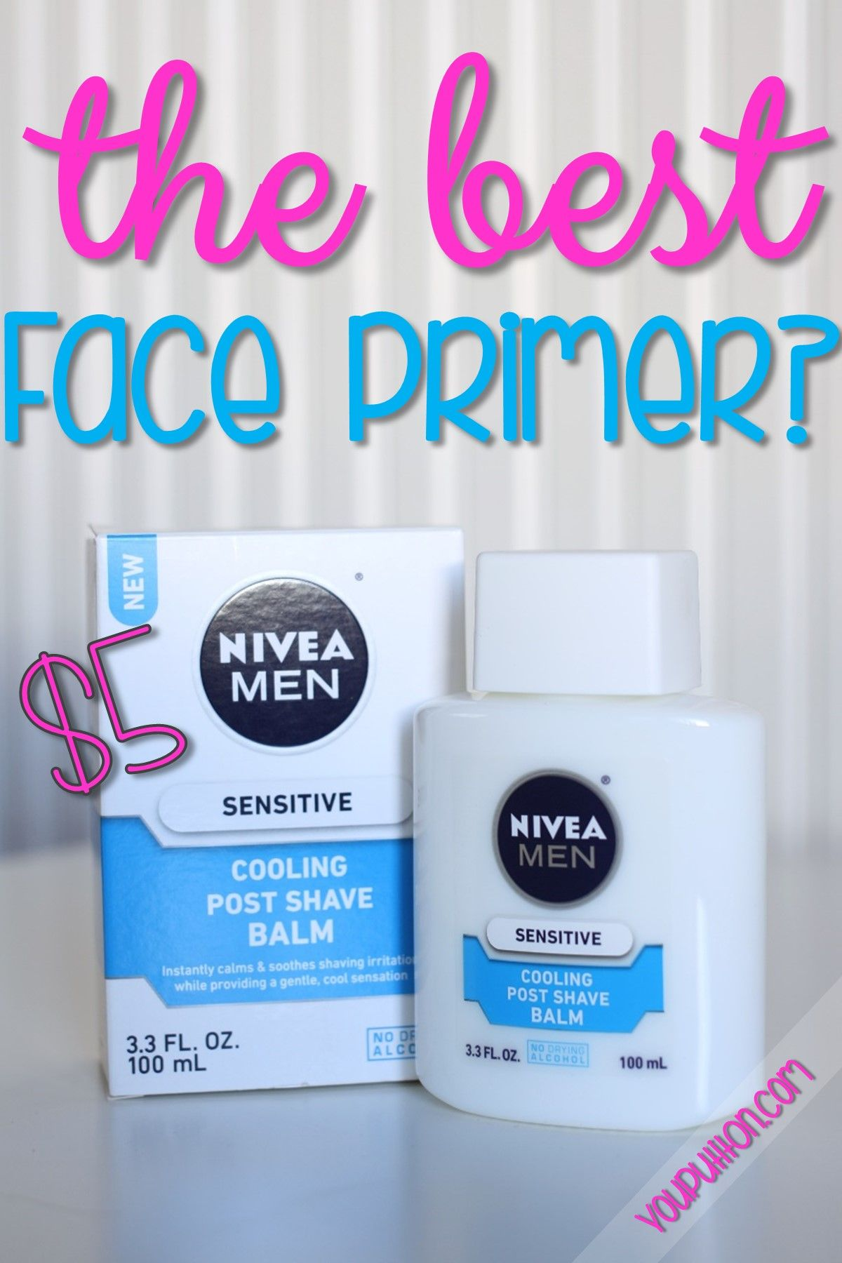 I have been hearing about using Nivea Post Shave Balm as a