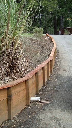Basic Pt Retaining Wall It Would Wise And Necessary To