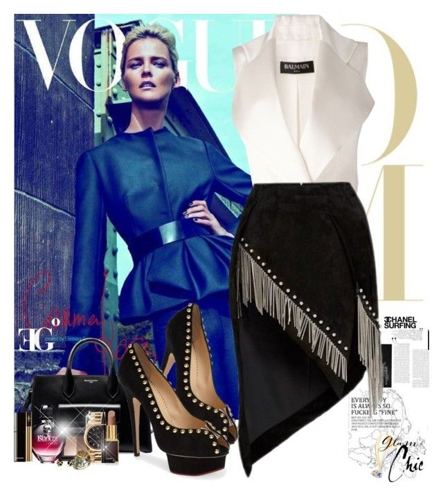 """Worth it"" by eleonoragocevska ❤ liked on Polyvore featuring Balenciaga, NARS Cosmetics, Anthony Vaccarello, Charlotte Olympia, Paco Rabanne, Tom Ford, Rolex, Chanel, Yves Saint Laurent and Sergio Rossi"