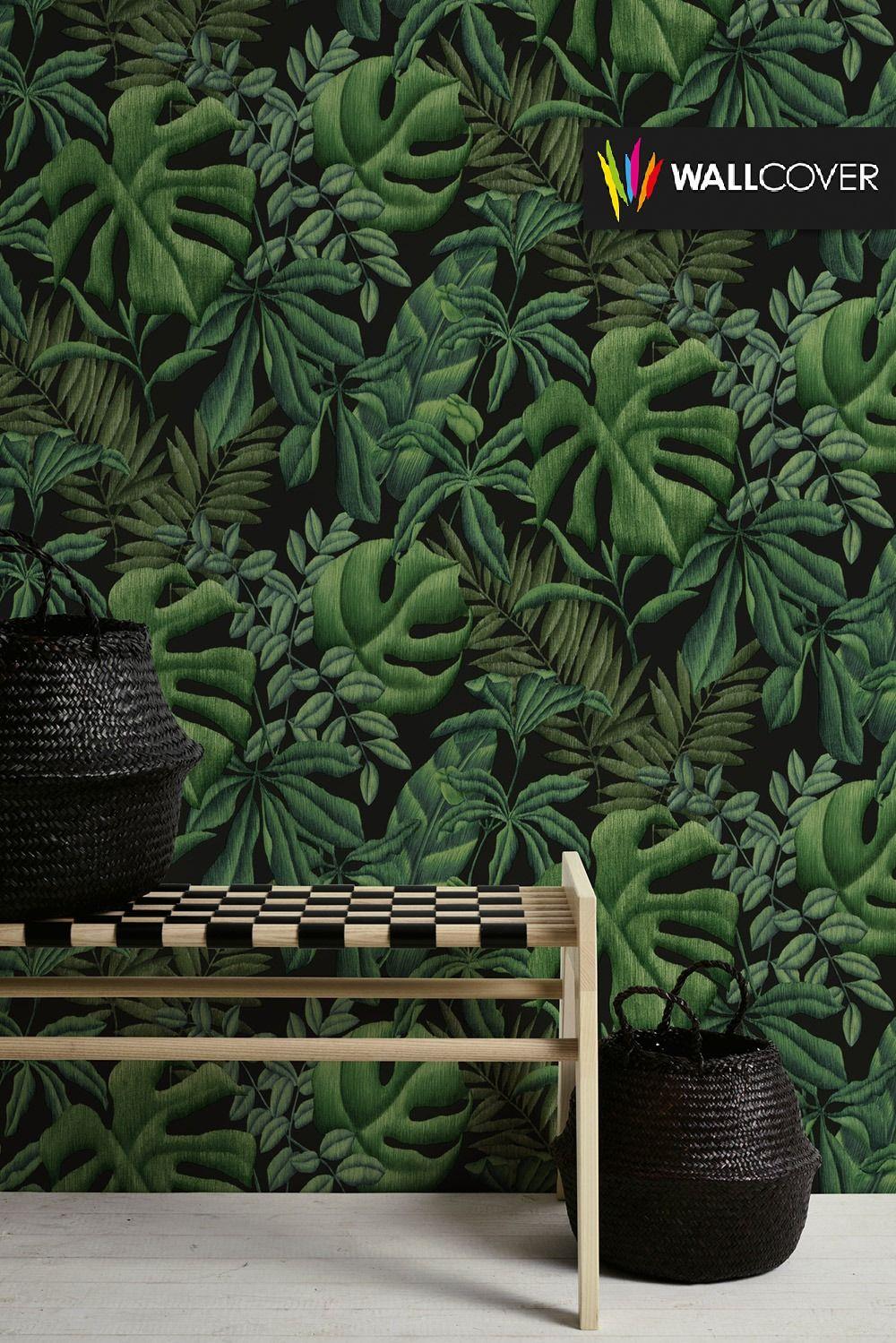 What Is Vinyl Wallpaper Jungle Wallpaper Tree Wallpaper Green Wallpaper