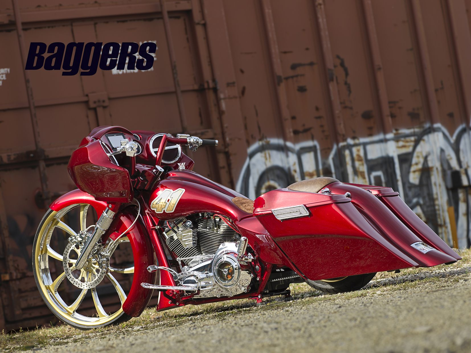 Da performance built this sick 2013 harley davidson road glide custom bagger as an invited baggers bike build off on the 2014 hot bike tour and everyone