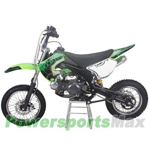 Db J014 Coolster 125cc Dirt Bike With Manual Clutch And Kick Start Pit Bike Cool Dirt Bikes 125cc Dirt Bike