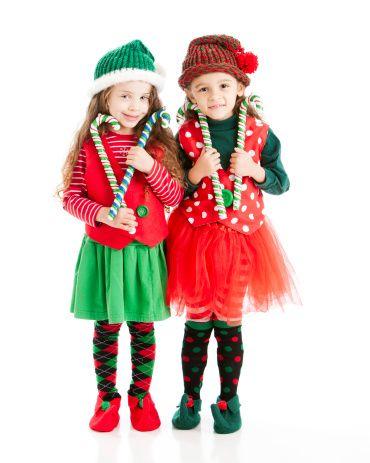 Ni as peinados con gorro navide o buscar con google - Disfraces duendes navidenos ...