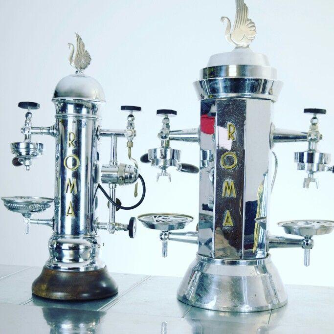 vintage espresso machines roma percolateur pinterest percolateur. Black Bedroom Furniture Sets. Home Design Ideas