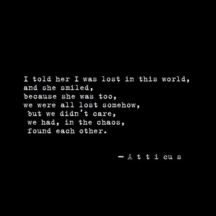 """ATTICUS on Instagram: """"It was her chaos that made her beautiful. ⠀⠀⠀⠀⠀⠀⠀⠀⠀ ⠀⠀⠀⠀⠀⠀⠀⠀⠀ #atticuspoetry #atticus #poetry #poem #findyourwild #loveherwild #kiss #love"""" #bffpictures"""