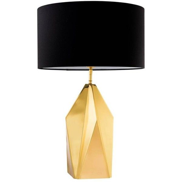 Golded iceberg table lamp in polished brass 1189 liked on golded iceberg table lamp in polished brass 1189 liked on polyvore featuring home aloadofball Image collections