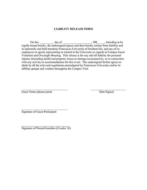 liability release forms by jacobyshaddix liability liability - liability release form