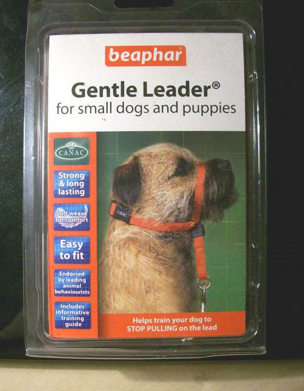 Beaphar Red Gentle Leader For Small Dogs And Puppies Stops Pulling Listing In The Collars Leads Muzzles Tags Dogs With Images Gentle Leader Small Dogs Dogs And Puppies