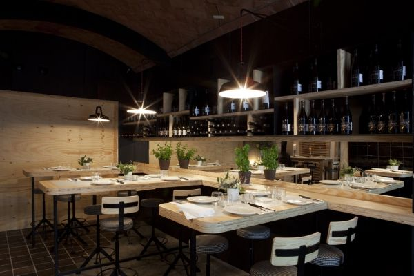Santana Nueva Sorpresa En El Corazon De Sarria Restaurant Interior Cafe Restaurant Restaurant Design