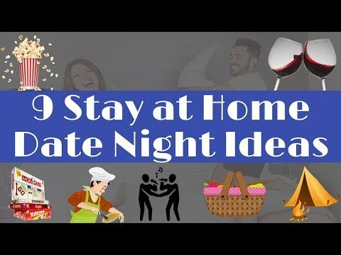 9 Stay At Home Date Night Ideas
