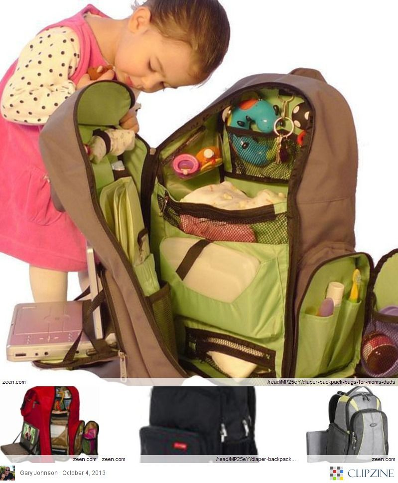 Diaper Backpack Bags For Mom S Dad