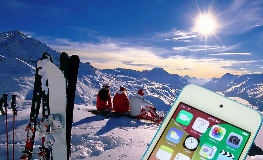 Las 5 Mejores Apps de iPhone 5, 6 y 6 Plus para Esquiar Este Invierno