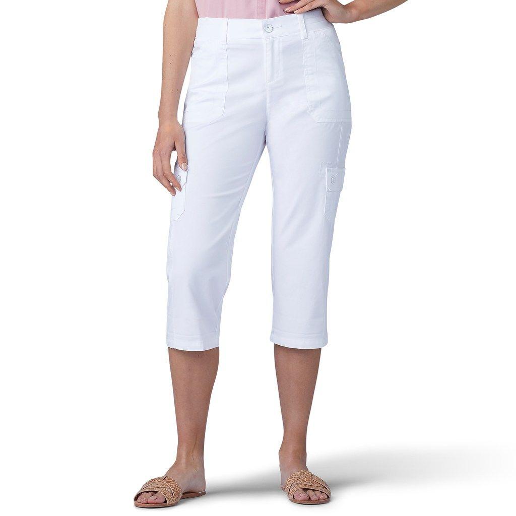 Women S Lee Flex To Go Cargo Skimmer Capris Comfortable Fashion