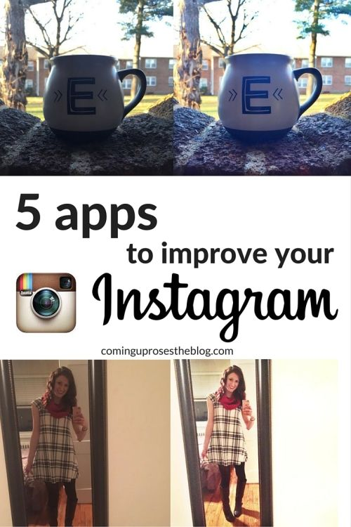 5 apps to improve your Instagram - Perfect for bloggers, business owners, or others who want to grow their Instagram following by maximizing the quality of your photos! Click to learn 5 apps to download now.