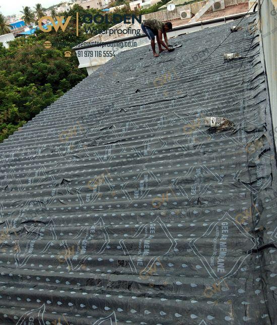 Epoxy Flooring Kerala: Golden Waterproofing: Bitumen Waterproofing