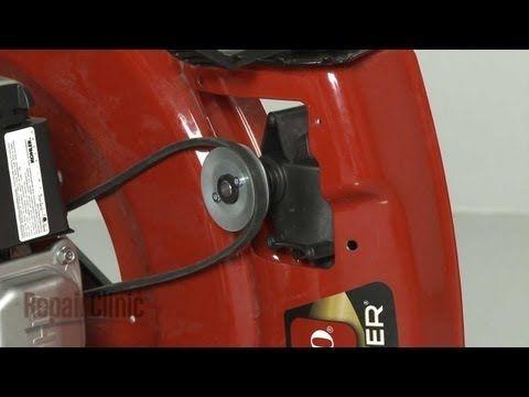 Mower Drive Belt Replacement Toro Lawn Mower Repair Part 117