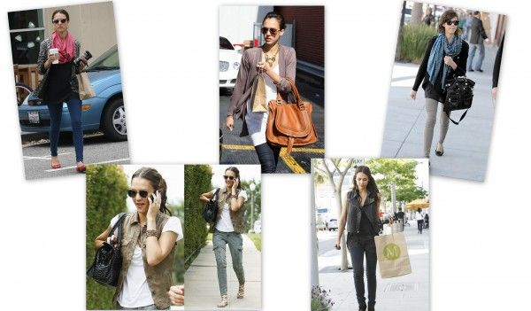 Jessica Alba has great Street Style!