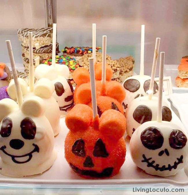 Mickey Mouse Halloween Cookies Recipe Caramel Apples Halloween Halloween Candy Apples Halloween Apples