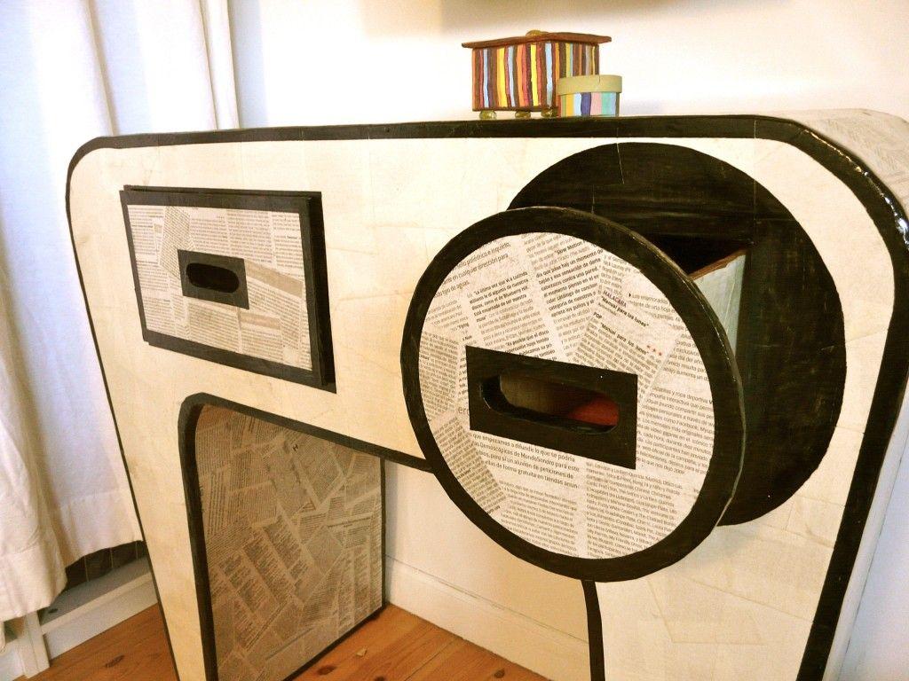 Modelo MONDO Mueble de cartón recuperado quiero hacer