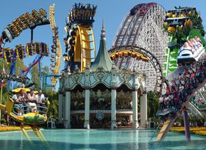 Six Flags Great America Amusement Parks In California Great America Six Flags