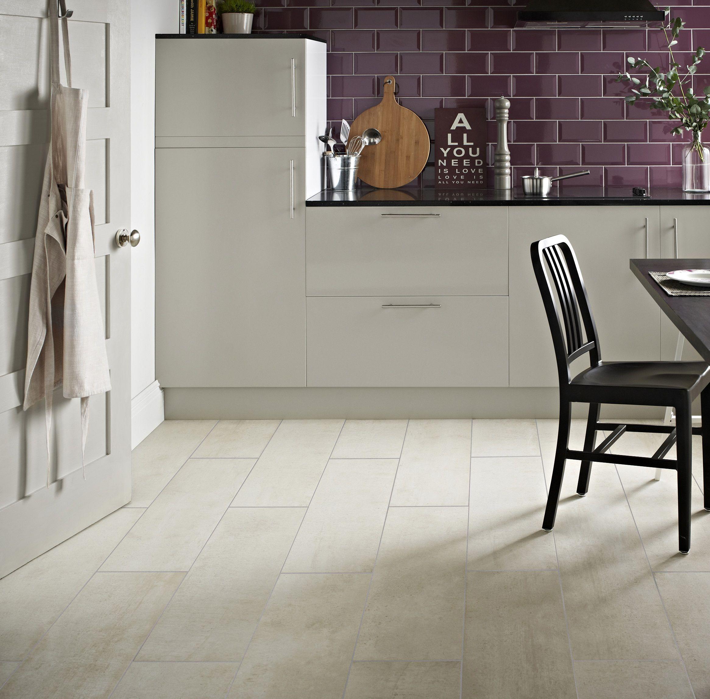 Concrete White Metro Plum White Tile Floor Tiles Bathroom