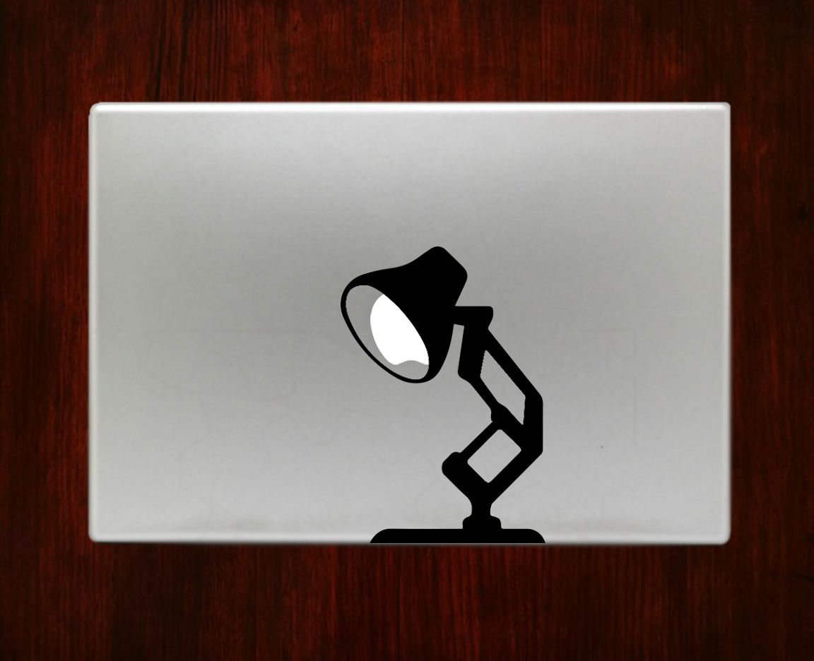 Pixar lamp disney decal sticker vinyl for macbook pro air 13 inch 15 inch