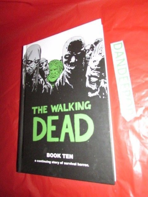 The Walking Dead Book 10 A Continuing Story Of Survival Horror HC #TheWalkingDead #Book9 #Books #Horror #SciFi Find me at dandeepop.com