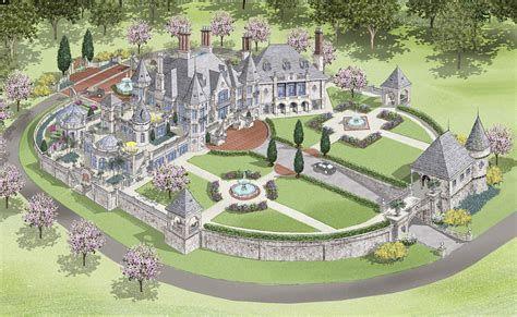 Screen Shot 2013 01 22 At 80248 Am Homes Of The Rich Castle House Plans Castle Plans Castle Designs