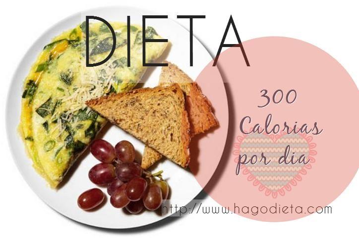 Dieta de solo 500 calorias diarias