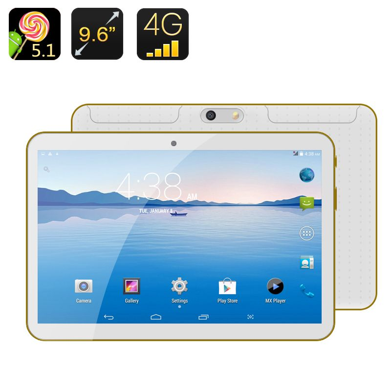 Android 4G Phablet Android 5.1, 9.6 Inch Screen, MTK6592
