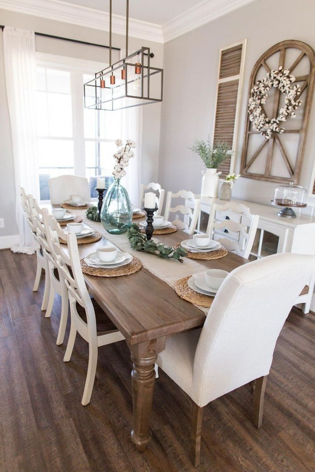 26 Magnificient Diy Spring Farmhouse Decorating Ideas To Try Right Now Dining Room Small Farmhouse Dining Room Table Dining Room Table Set Spring ideas dinning room