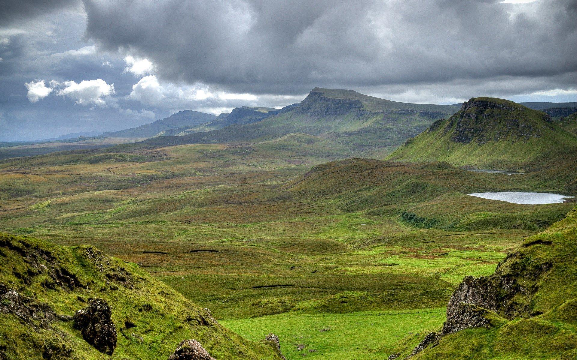 1920x1200 Free Computer Landscape Mountain Images Scotland Mountains Nature Wallpaper