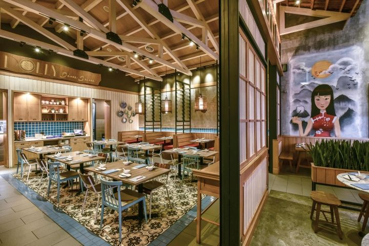 Dolly Dimsum Chinese Restaurant By Metaphor Interior, Kuala Lumpur U2013  Malaysia » Retail Design Blog