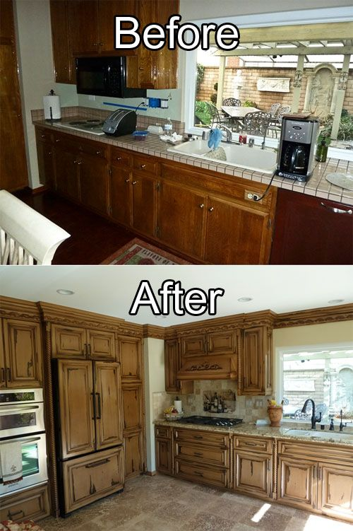 kitchen cabinet refinishing | refinishing high end imported cabinets ...