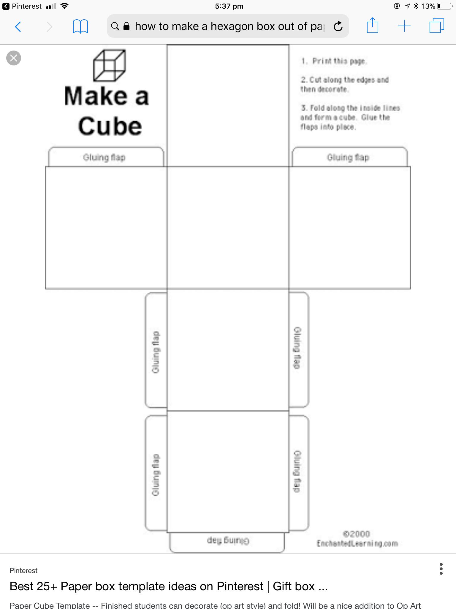 hight resolution of box templates kisses paper box template carton box stationery shop box