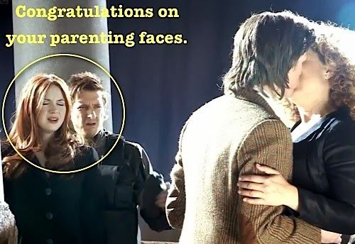 The Wedding of River Song | Eleven and River | Rory and Amy | Congratulations on your parenting faces...