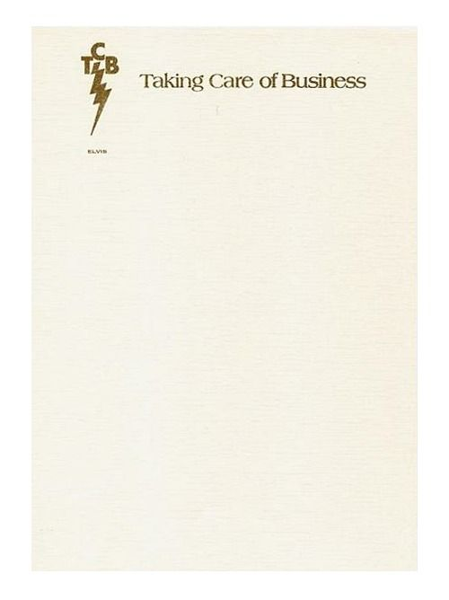 Elvis Presley  Little Masterpieces On Letterhead
