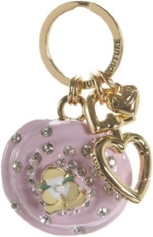 Juicy Couture Pansy Keychain Fob ♥