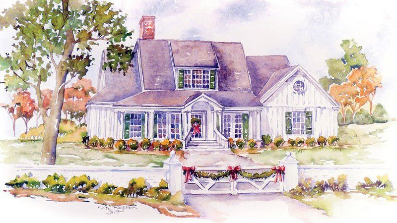 The Best House Plans Of 2017 Southern Living House Plans Country House Decor House Plans